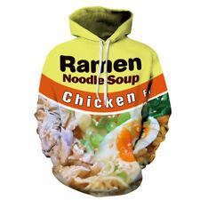 2008 Women/Men Ramen Noodle Chicken Soup 3D Print Casual Hoodies Sweatshirt 2XL