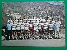 CYCLISME carte équipe cycliste  PEUGEOT ESSO MICHELIN 1976