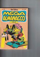 1986 07 - MEGA ALMANACCO WALT DISNEY - 07 1986 - N.355