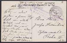 Kroatien Seepost Marine Feldpost AK 1916 Truppenstempel KuK. Graf Colloredo