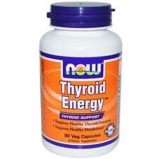 Now Foods Thyroid Energy Schilddrüsen Unterstützung 90 V Kapseln