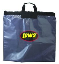 NEW! Lews Fishing Tournament Weigh In Bag with Heavy Duty Zipper, Black LTB1
