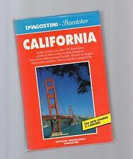 guida de agostini baedeker - california  - altra edizione 1991