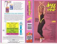 Judi Sheppard Missett JAZZERCISE THE BEST YET LIVE - VHS Video Tape Vintage