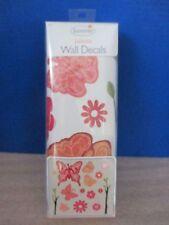 SUMMER~30 Decorative JULIETTE WALL DECALS~Self-Stick~FLOWERS & BUTTERFLIES~NIB