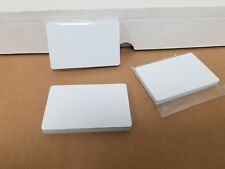 10 Blank White PVC Cards, CR80.30 Mil, High Quality for Color and UV Printing