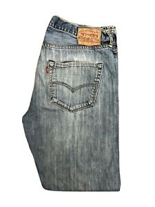 Original Levi's 501® Classic Straight Leg Blue Denim Jeans W36 L32 ES 8287