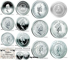 Complete Slave Queen Proof and BU Sets (14 oz) With COA's Silver Shield 2016/17