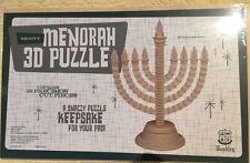 Wembley Groovy Menorah 3D Puzzle 38 Precision Cut Pieces