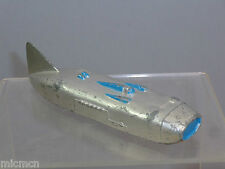 "VINTAGE DINKY MODEL No.23S RACING CAR  ""SILVER & BLUE DETAIL VERSION"""