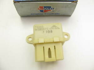 Carquest RY-43 Engine Cooling Fan Motor / Power Antenna Relay