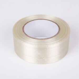 5 Rollen 50Mx50mm Filamentband Filament Glasfaser Klebeband Gewebeband Packband