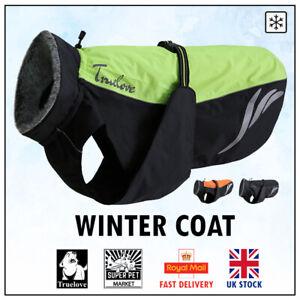 Dog Rain Coat Winter Truelove Waterproof Storm Warm Outdoor Orange Neon Yellow