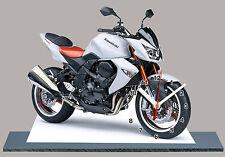 MINIATUR MODELL MOTORRAD in der Uhr, KAWASAKI Z1000-2010-05
