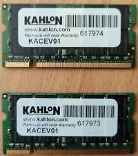 1GB Memoria (PC2700, DDR333MHz) para portátil.