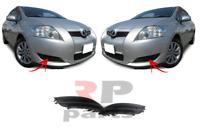 Pour Toyota Auris 2007-2010 Neuf Avant Foglight Grille Avec N° Fog Trou Paire