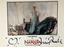 Chronicles Of Narnia Tilda Swinton Original Autographed Photo Disney Handsigned