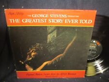 """""""The Greatest Story Ever Told"""" Original Motion Picture Soundtrack LP"""