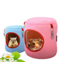 Pet Hamster Cage Home Hanging Bed Warm Winter Nest Squirrel Hammock Toy For Rat