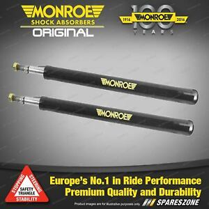 Pair Front Monroe Original Shock Absorbers for MAZDA 626 REAR WHEEL DRIVE 2000