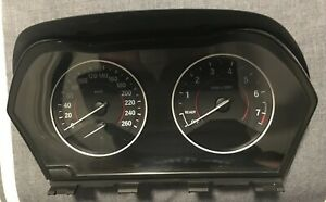 BMW 1 Series F20 Instrument Cluster/Speedo - Petrol/Auto Transmission Type