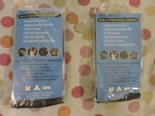 One Elixir golf sunblock Uv 50 protective compression arm sleeve band black
