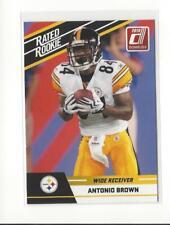 2010 Donruss Rated Rookies #6 Antonio Brown Rookie Steelers Raiders