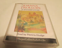 A Spanish Lover - Joanna Trollope (2 Cassette Audio Book) Used Very good
