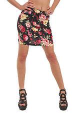 10040 Stretch-Stoff -Minirock Rock skirt  verfügbar in 5 Größen 4 Farben