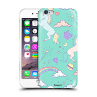 Custodia Cover Design unicorni Per Apple iPhone 4 4s 5 5s 5c 6 6s 7 Plus SE