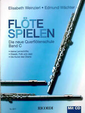 Querflöte Noten Schule : Flöte Spielen C mit CD WEINZIERL WÄCHTER