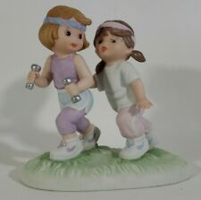 Enesco Sisters & Best Friends Through Thick & Thin Figurine Exercise  # 772267