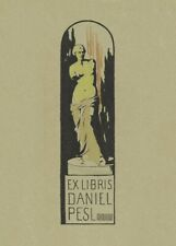 Book Plate Daniel Pesl II, 1901, FRANZ MARC, Cubism, Expressionism Art Poster