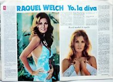 RAQUEL WELCH => 2 pages 1974 Spanish CLIPPING !!!