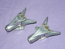 Vintage LOOK Nevada Alpine Downhill Antique SKI BINDING Toe Pieces Only FRANCE 2