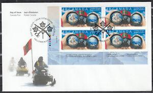 "Canada FDC Scott #1984 PLATE BLOCK Mar 3, 2003  ""Canadian Rangers"""