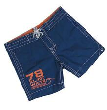 New Ex H&M Blue Orange Summer Beach Swimshorts Swim Shorts 1-14 Years