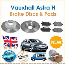 For Vauxhall Astra MK5 H 1.7 1.9 CDTi DTI 2004- Rear Brake Discs & Pads Set New