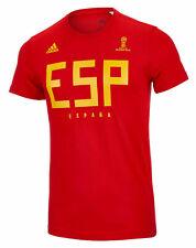 NEW MENS ADIDAS ESP SPAIN NATIONAL TEAM SUPPORTER FIFA WORLD CUP T SHIRT TEE XL