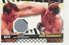 2010 TOPPS UFC FIGHT MAT RELICS NATE MARQUARDT UFN8 EVENT USED OCTAGON MAT