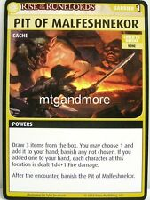 Pathfinder Adventure Card Game - 1x Pit of Malfeshnekor - Burnt Offerings