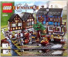 Lego Bauanleitung für Medieval Market Village 10193