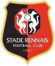 """Stade Rennais France Football Soccer Car Bumper Sticker Decal 4""""X5"""""""