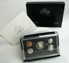 SILVER 1997 PREMIER Proof set with box and COA