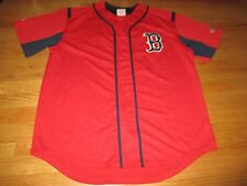Majestic DUSTIN PEDROIA No. 15 BOSTON RED SOX  (LG) Jersey RED