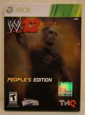 New! WWE '12 (2012) [The People's Edition] (Xbox 360, 2011) - THQ Rock Variant