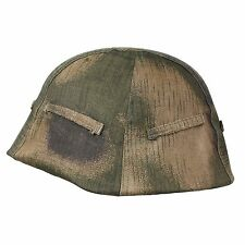German Tan and Water Helmet Cover - Repro WW2 Military Army Solider Hat Camo