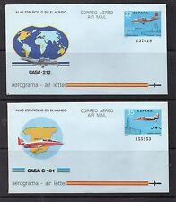 España Aviones Aerogramas del año 1983 (DG-319)
