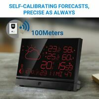 Wireless Indoor Outdoor Thermometer Weather Station 7.5-Inch  LCD