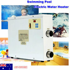 Swimming Pool & SPA Tub Water Heater Bath 9kW 220V Thermostat Electric (HTS8399843)